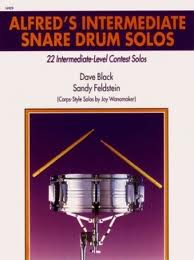 alfreds intermediate snare drum solos